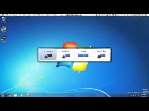 TechTips: Windows7 - Connect to a Projector