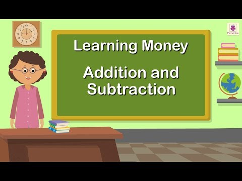 Learning Money - Addition and Subtraction | Grade 1 Maths For Kids | Periwinkle