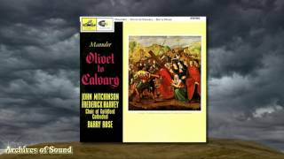 Olivet To Calvary John Maunder Lp 1964  Guildford Cathedral Choir Barry Rose