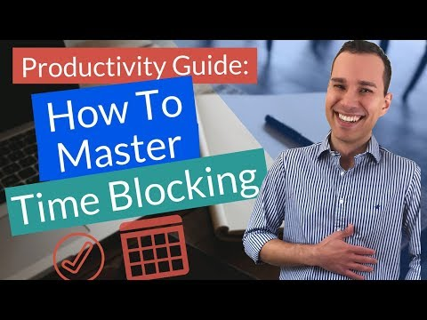 Time Blocking Mastery: Be More Productive (Printable PDF & Excel Template)
