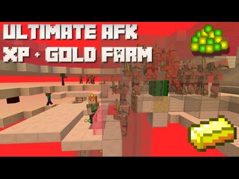 Minecraft: XP & Gold Farm Tutorial Part 1