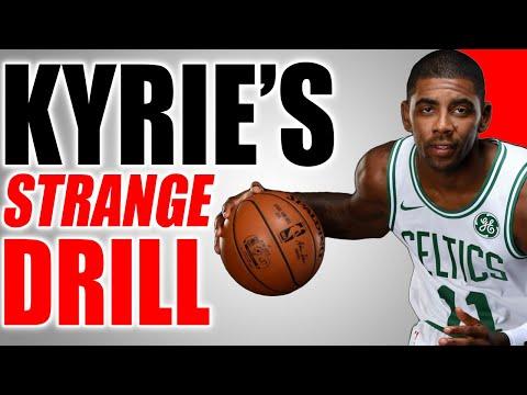 Kyrie Irving's STRANGE SECRET Handles Drill! Sick Dribbling Trick!