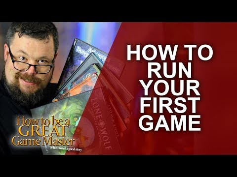 Great Game Master - How to run your very first role-playing session - GMTips