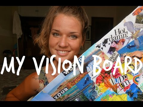 Finding Inspiration || My Vision Board