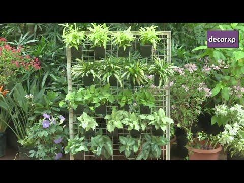 How To Make A Vertical Garden?