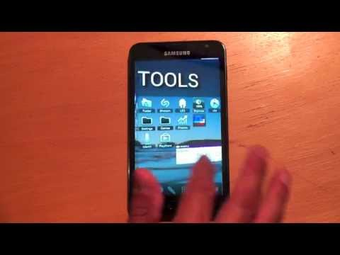 Samsung Galaxy Note 3D UI with ICS Ice Cream Sandwich Android 4.0.3 #Apple2Android 1080p