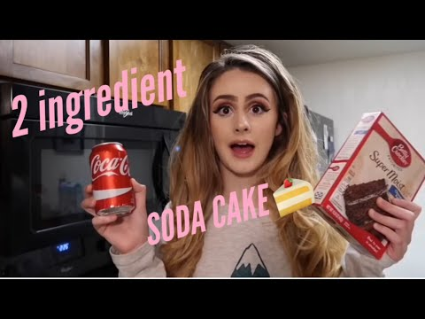2 Ingredient Soda Cake 🎂 | Baking with Brie