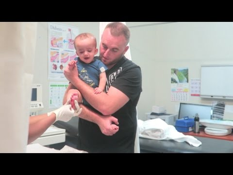 WORST BABY BLOOD TEST EXPERIENCE EVER!!! (WARNING BLOOD) | VLOG