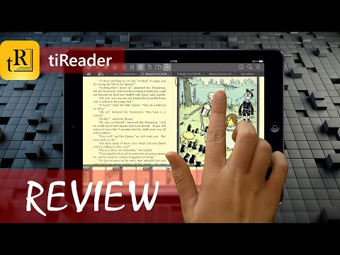 tiReader - eBook and Comic Book Reader (iOS). App Review