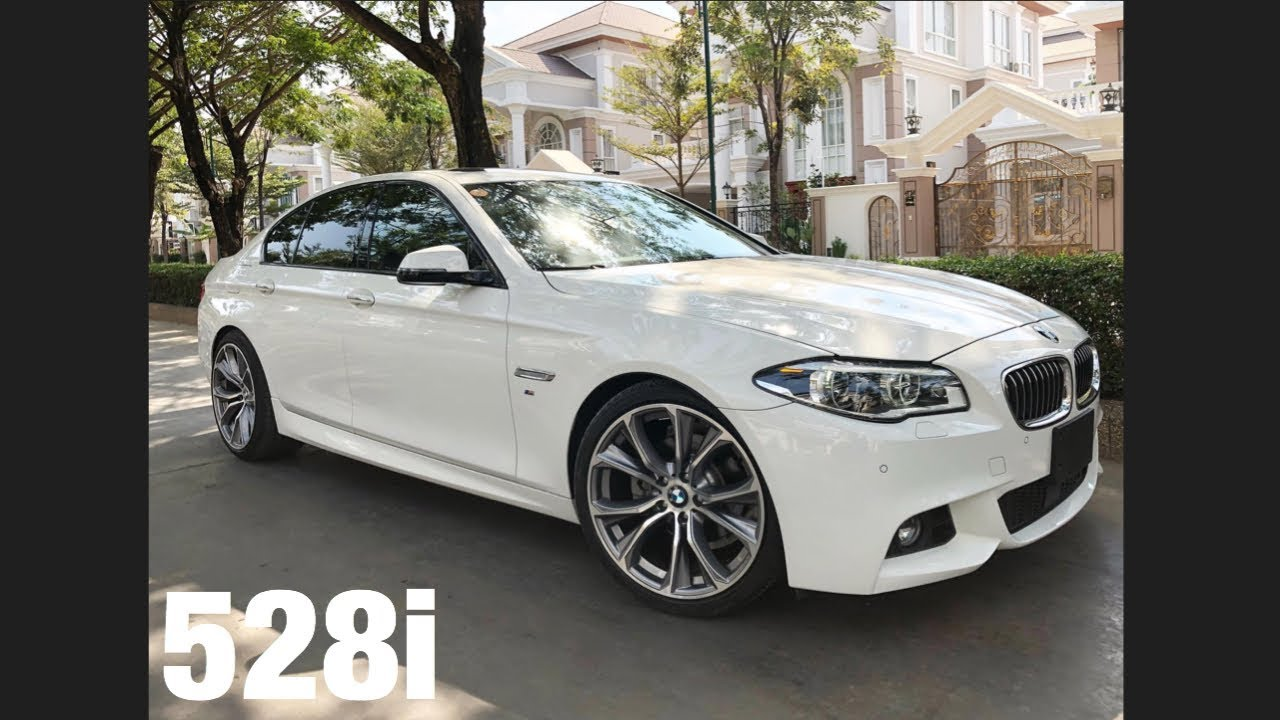 2016 BMW 528i M Sport Package White Review