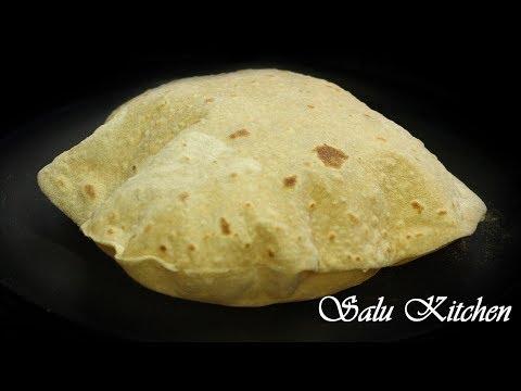 How To Make Soft & Puffed Chapathi / Step by Step / Phulka / Roti