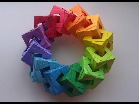 Origami Cube Ring Tutorial