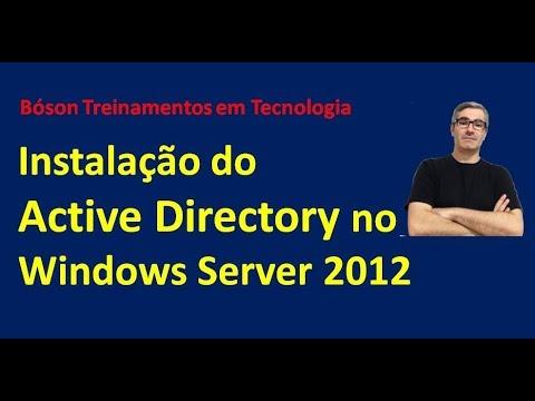 3 - Instalação do Active Directory Domain Services no Windows Server 2012