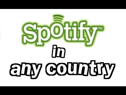 Access Spotify in Any Country the Easy way (2014) (FREE)