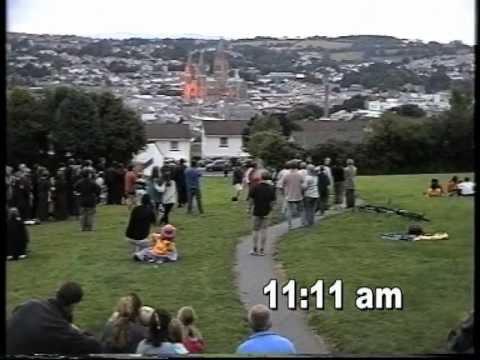 The 1999 Total Eclipse over Truro, Cornwall. Filmed and Edited by Phillip Wills