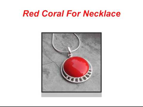 Top  6 Jewelry Items of Red Coral Gemstone