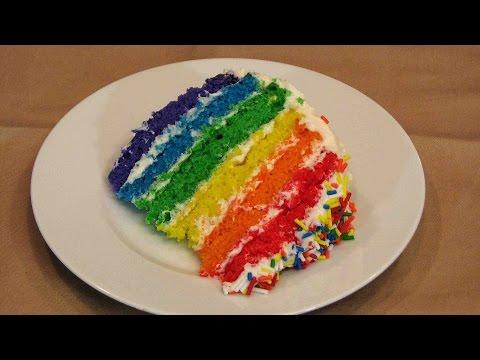 Rainbow Cake – Lynn's Recipes