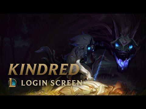 Kindred, the Eternal Hunters | Login Screen - League of Legends