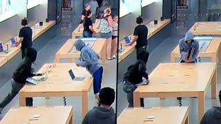What to Do in the Event of a Flash Mob Theft
