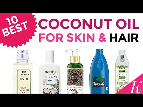 10 Best Coconut Oils for Skin & Hair in India with Price