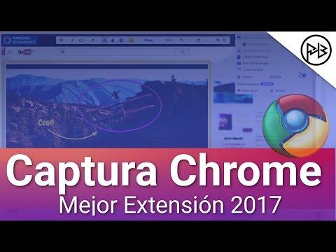 5 Formas tomar un Captura de Pantalla en Google Chrome 2017