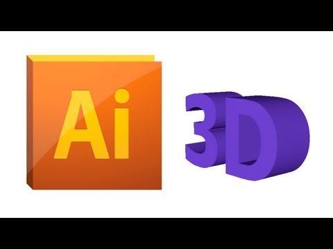 Tutorial  Illustrator CS5! : Objetos 3D
