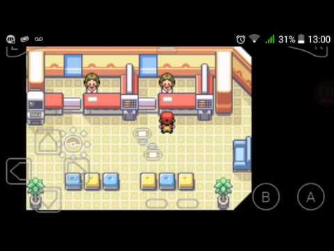 #Tutorial#de como trocar pokemons do pokemon fire red com vc mesmo no seu Android