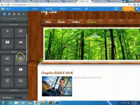 Weebly  - How to tutorial to weebly.com: Create a Free Website