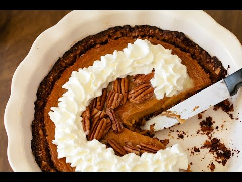 Recipe:  Persimmon Pumpkin Pie
