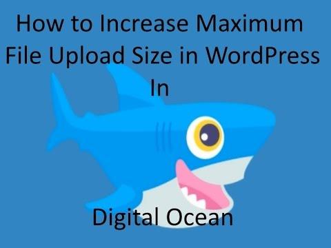 Increase Maximum File Upload Size in DigitalOcean WordPress