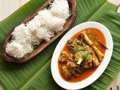 Idiyappam Aatukal Paya/ Non-Veg Recipes