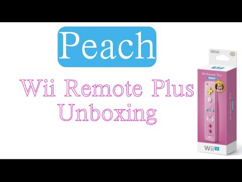 Peach Wii Remote Unboxing