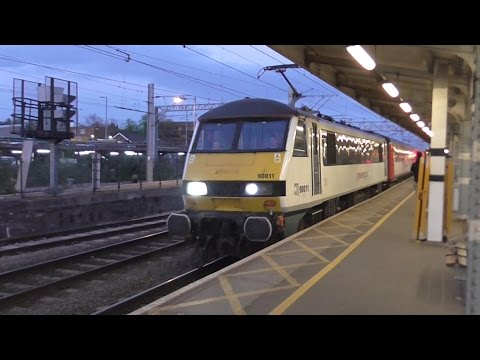 Greater Anglia Class 90/Mk3 set Ride: Colchester to London Liverpool Street (Semi-Fast) - 13/04/17