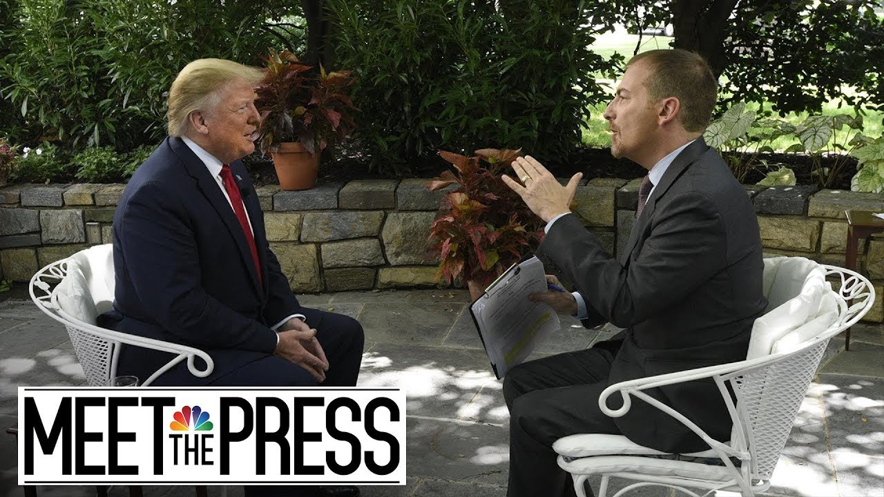 President Trump's Full, Unedited Interview With Meet The Press  | NBC News
