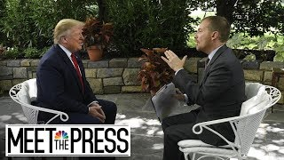 Download President Trump's Full, Unedited Interview With Meet The Press | NBC News Video
