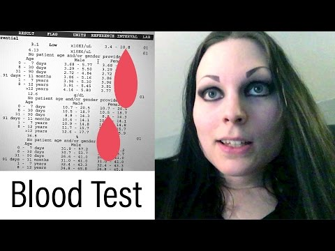 Odd Blood Test Results / No Gender | May 8, 2017