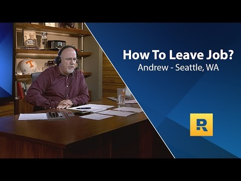 How To Leave Job?