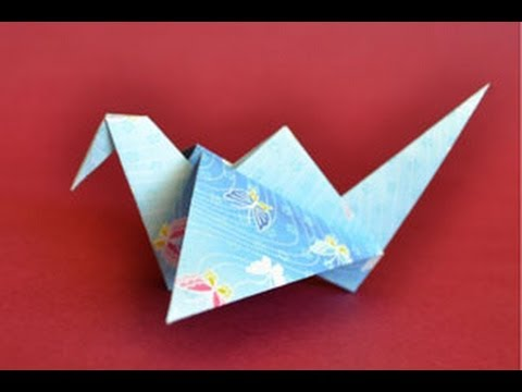 Origami Flapping Bird Instructions: www.Origami-Fun.com