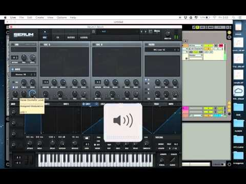 Massive SKRILLEX bass (Red Lips, Make a move) SERUM, Massive tutorial ableton