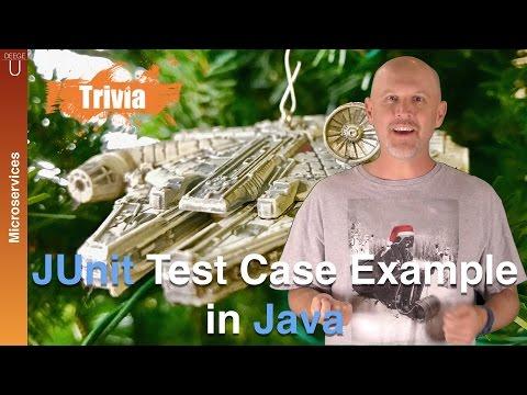 JUnit test case example in Java – CM004