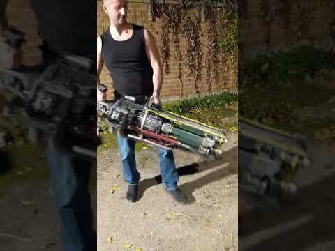 Gatling Laser Fallout 4 prop / cosplay overview