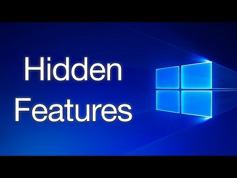 Top 5 Hidden Features in Windows 10/8/7 (2018)