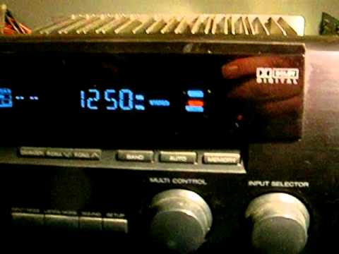 Kenwood VR-208 Receiver with AM Stereo