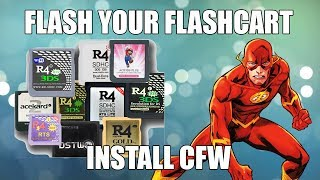 HOW TO FLASH FLASHCART NTRBOOT TO INSTALL CFW BOOT9STRAP