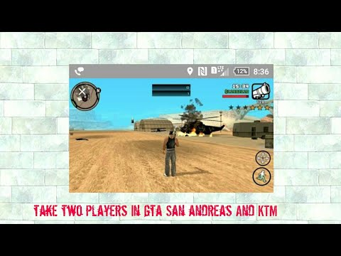 How to take two players and KTM bike in gta San andreas