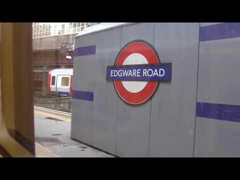 Journey on Circle line from Paddington to Farringdon