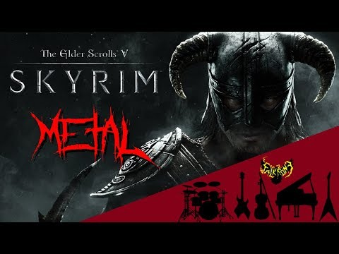 Skyrim - Main Theme (Dragonborn) 【Intense Symphonic Metal Cover】 【73k Special】