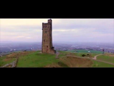 Castle Hill - Huddersfield - DJI Phantom 3 Professional - Drone Footage