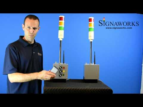 Wireless Andon Tower Light - Signaworks