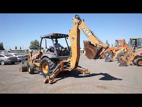 2012 Case 580N Loader Backhoe